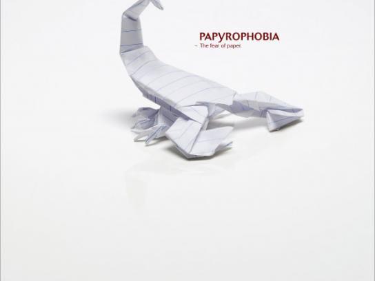 Alexander Forbes Print Ad -  Papyrophobia