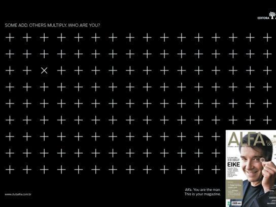 Alfa Magazine Print Ad -  Signs, 1