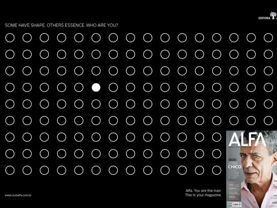 Alfa Magazine Print Ad -  Signs, 3