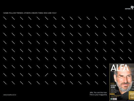 Alfa Magazine Print Ad -  Signs, 4