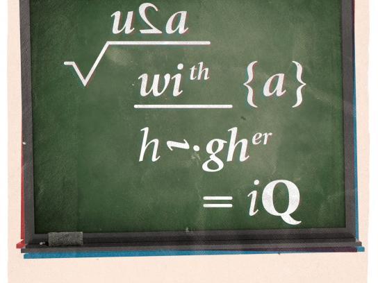 PBS Print Ad -  Algebra