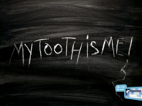 Algozone Print Ad -  Tooth