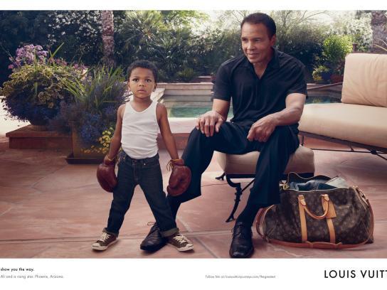 Louis Vuitton Print Ad -  Ali