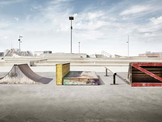 Alis Print Ad -  Skate Park Obstacles