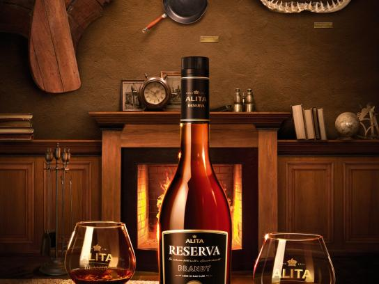 Alita Reserva Brandy Print Ad -  For extraordinary remembrances