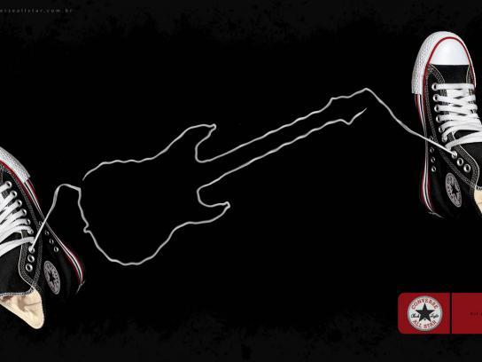 Converse Print Ad -  Guitar