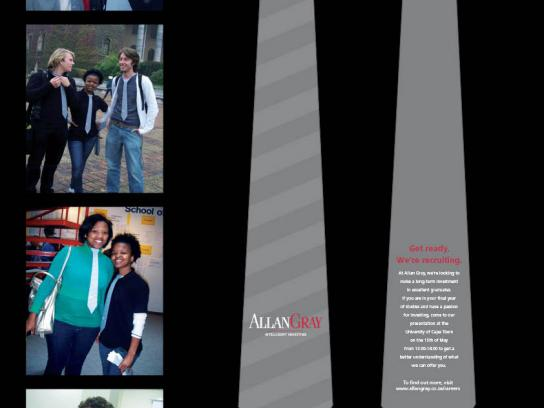 Allan Gray Ambient Ad -  Tie