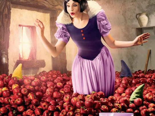 Kellogg's Print Ad -  Snow White