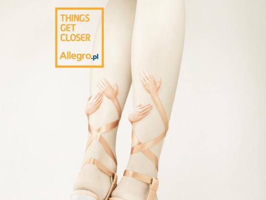 Allegro Print Ad -  Shoes