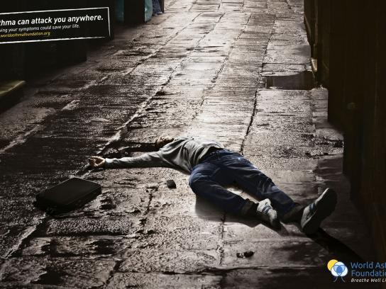 World Asthma Foundation Print Ad -  Alley