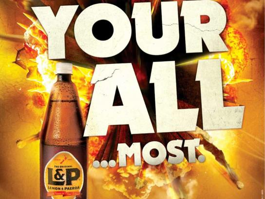 L&P Outdoor Ad -  Almost
