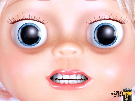 BIC Print Ad -  Doll