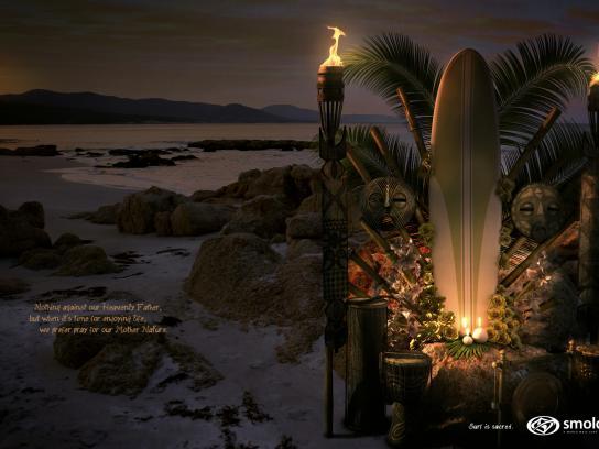 Smolder Print Ad -  Altars, Night
