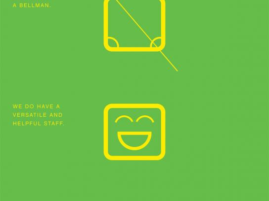 Alt Hotel Print Ad -  Bellman