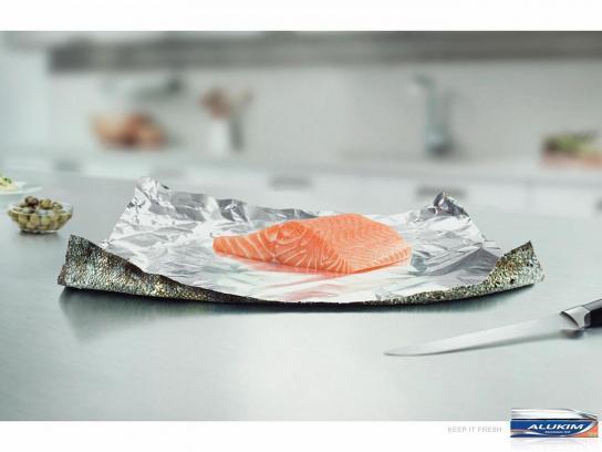 Alukim Print Ad -  Fish