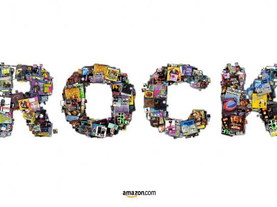 Amazon Print Ad -  Rock