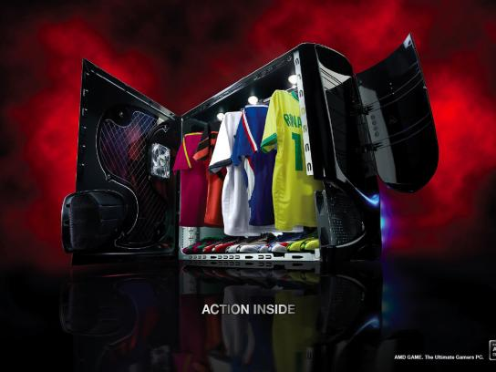 AMD Game Print Ad -  Sport