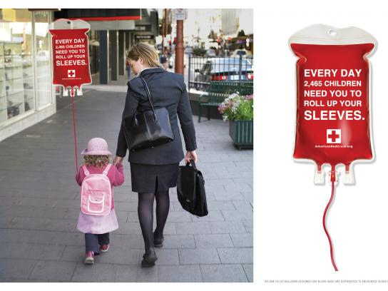 Red Cross Ambient Ad -  Balloon