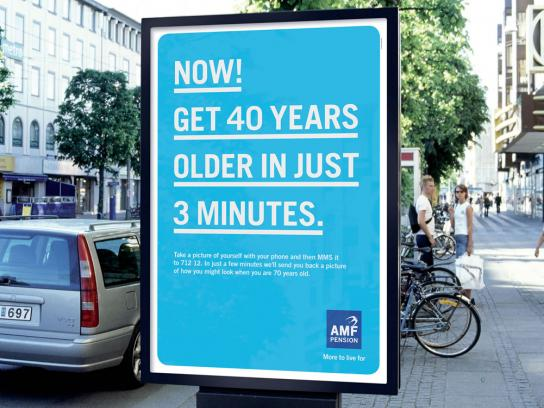 AMF Pension Outdoor Ad -  Old, 2