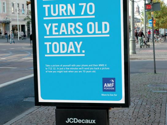 AMF Pension Outdoor Ad -  Old, 3