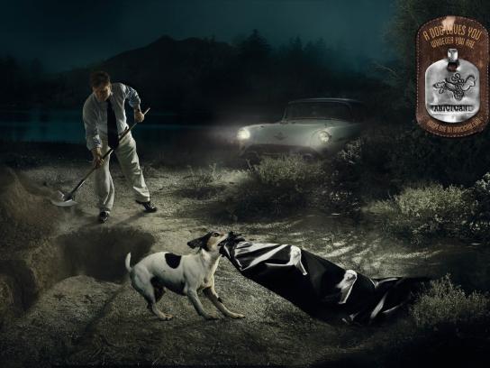 AmiciCani Print Ad -  Killer