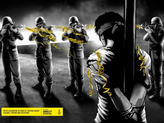 Amnesty International Print Ad -  Execution