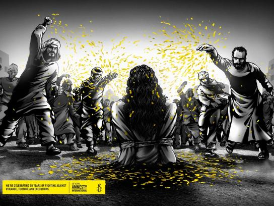 Amnesty International Print Ad -  Stoning