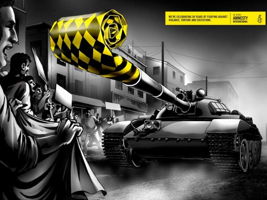 Amnesty International Print Ad -  Tank