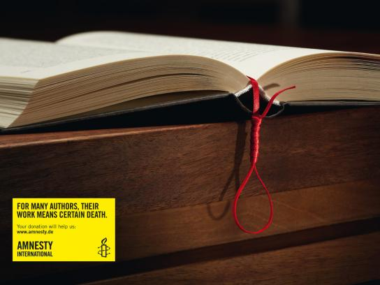 Amnesty International Print Ad -  Gallows