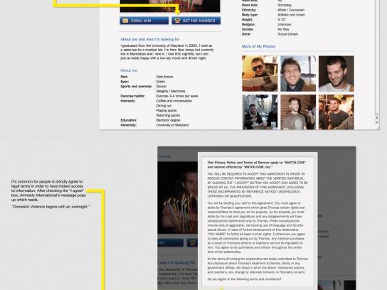 Amnesty International Digital Ad -  I agree