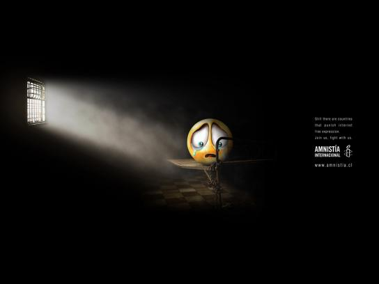 Amnesty International Print Ad -  Internet, 2