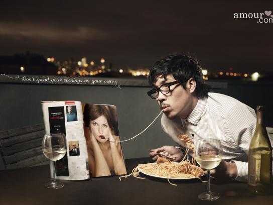 Amour Print Ad -  Magazine