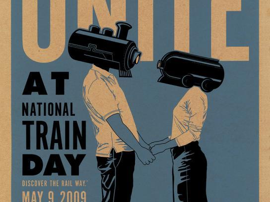 Amtrak Print Ad -  Unite