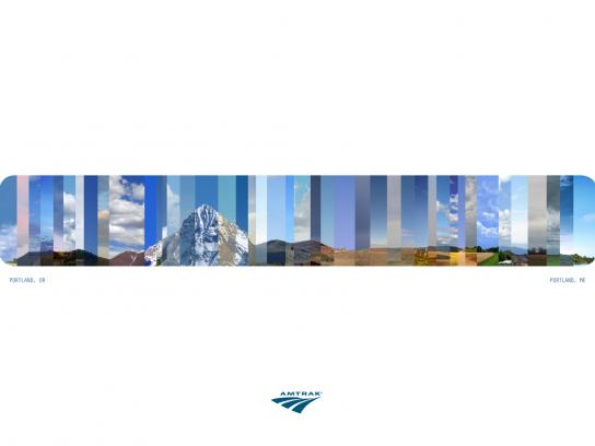 Amtrak Print Ad -  Dayscape
