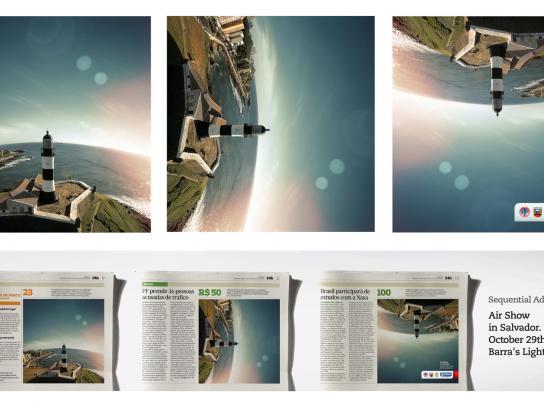 Governo da Bahia Print Ad -  Air Show