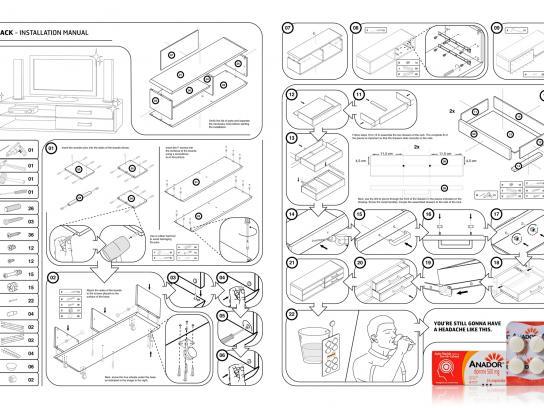 Anador Print Ad -  Manual, Rack