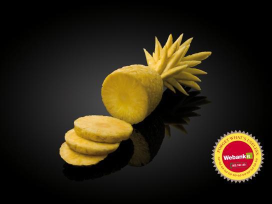 Webank Print Ad -  Ananas