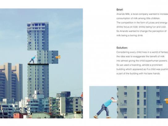 Anando Outdoor Ad -  Building