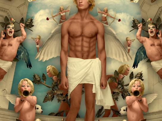 Björn Gustafsson Print Ad -  Angel, 1