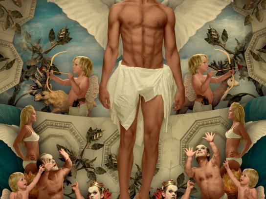 Björn Gustafsson Print Ad -  Angel, 2