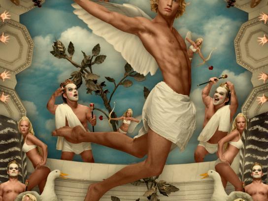 Björn Gustafsson Print Ad -  Angel, 3