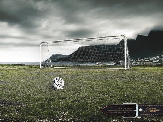 Animal Anti-Cruelty League Print Ad -  Ball