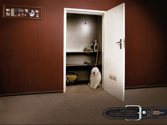 Animal Anti-Cruelty League Print Ad -  Mop