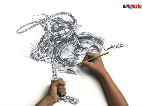 Animaster Print Ad -  Bike