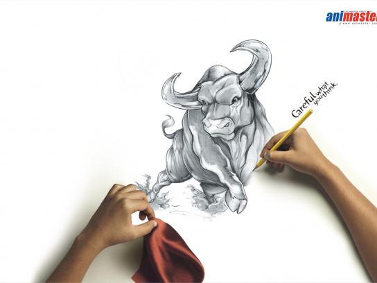 Animaster Print Ad -  Bull