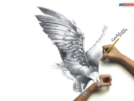 Animaster Print Ad -  Eagle