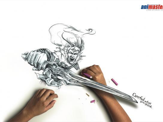 Animaster Print Ad -  Sword