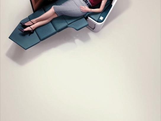 Cathay Pacific Print Ad -  Anina