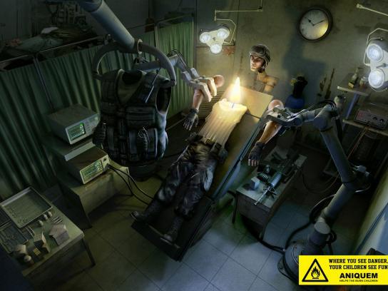 Aniquem Print Ad -  Soldier