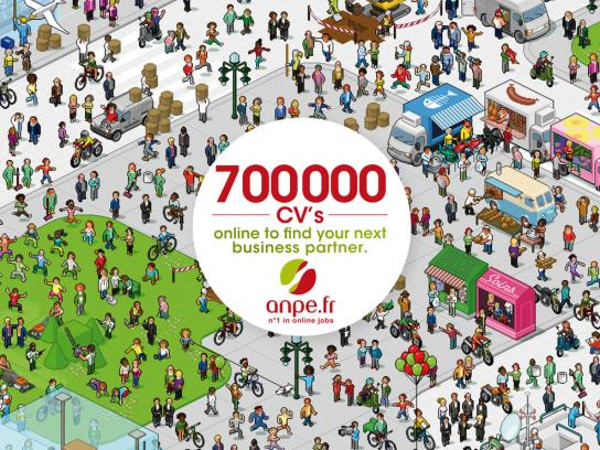 ANPE Print Ad -  CVs